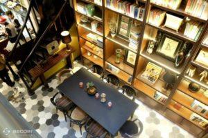 Gạch bông lục giác lát sàn quán Cafe Runam tại TP. Hồ Chí Minh