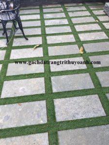 Tô điểm cho sân vườn bằng đá băm xanh