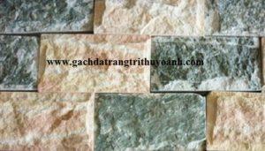 Kết hợp đá bóc xanh ngọc và đá bóc hồng