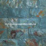 Đá xanh hải dương lồi rỉ sét ốp tường trang trí