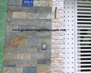 Tạo điểm nhấn cho bức tường bằng đá vân gỗ 3 size