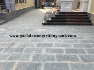 Sân vườn lát đá xanh Thanh Hóa