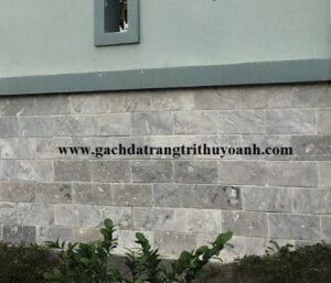 Đá mài bóng bông mai ốp lát trang trí tường